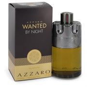 Azzaro Wanted By Night by Azzaro Eau De Parfum Spray 5 oz Men