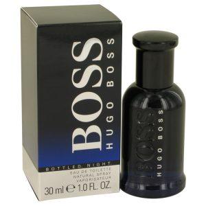 Boss Bottled Night by Hugo Boss Eau De Toilette Spray 1 oz Men