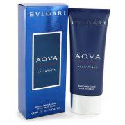 Bvlgari Aqua Atlantique by Bvlgari After Shave Balm 3.4 oz Men