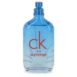 CK ONE Summer by Calvin Klein Eau De Toilette Spray (2017 Tester) 3.4 oz Men