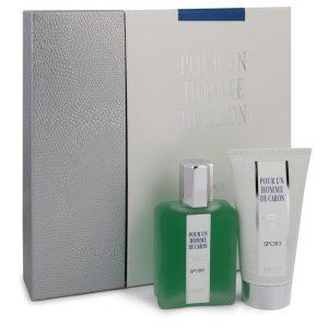 Caron Pour Homme Sport by Caron Gift Set -- 2.5 oz Eau DE Toilette Spray + 2.5 oz Shower Gel Men