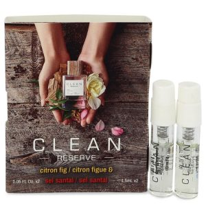 Clean Reserve Citron Fig by Clean Vial Set Includes Citron Fig and Sel Santal .05 oz Women