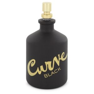 Curve Black by Liz Claiborne Eau De Toilette Spray (Tester) 4.2 oz Men
