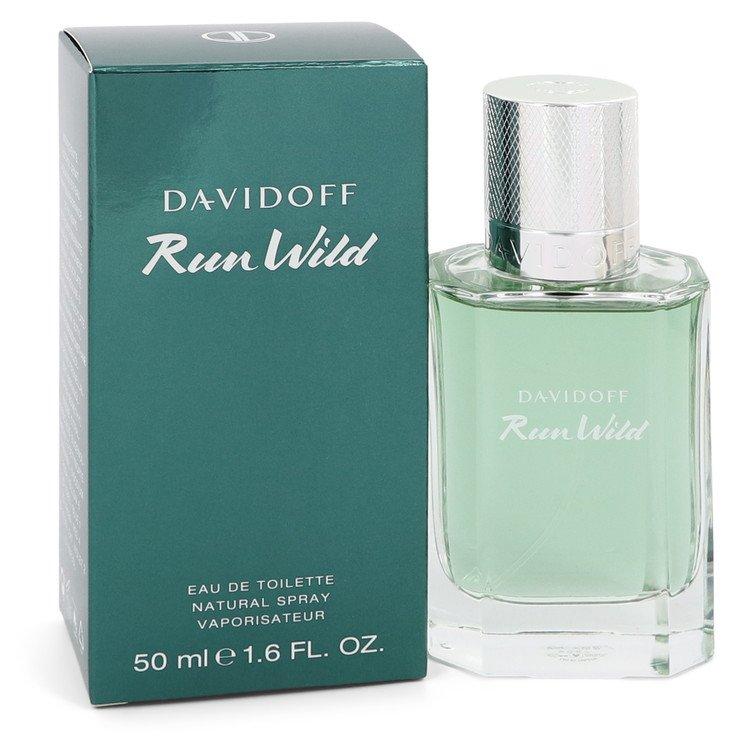 Davidoff Run Wild by Davidoff Eau De Toilette Spray 1.6 oz Men