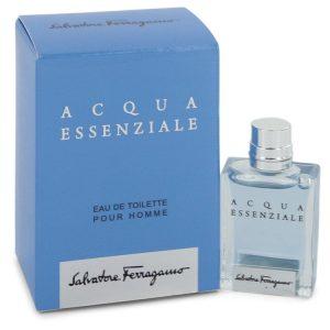 Acqua Essenziale by Salvatore Ferragamo Mini EDT .17 oz Men