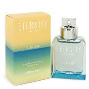 Eternity Summer by Calvin Klein Eau De Toilette Spray (2019) 3.3 oz Men