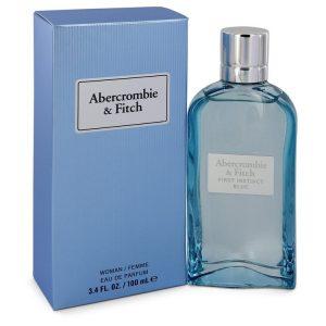 First Instinct Blue by Abercrombie & Fitch Eau De Parfum Spray 3.4 oz Women