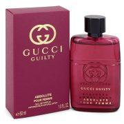 Gucci Guilty Absolute by Gucci Eau De Parfum Spray 1.7 oz Women