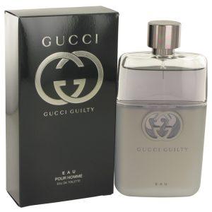 Gucci Guilty Eau by Gucci Eau De Toilette Spray 3 oz Men