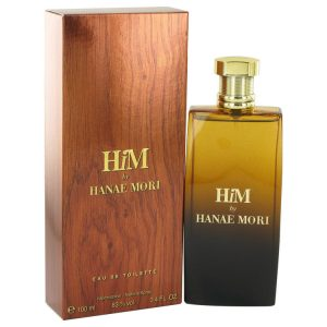 Hanae Mori Him by Hanae Mori Eau De Toilette Spray 3.4 oz Men