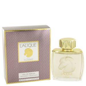 LALIQUE by Lalique Eau De Parfum Spray (Horse Head) 2.5 oz Men