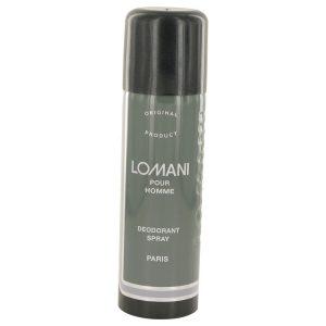 LOMANI by Lomani Deodorant Spray 6.7 oz Men