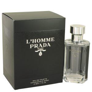 Prada L'homme by Prada Eau De Toilette Spray 1.7 oz Men