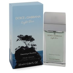 Light bluE Dreaming In Portofino by Dolce & Gabbana Eau De Toilette Spray .84 oz Women