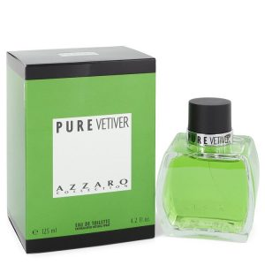AZZARO PURE VETIVER by Azzaro Eau De Toilette Spray 4.2 oz Men