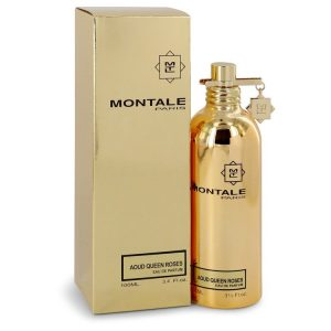 Montale Aoud Queen Roses by Montale Eau De Parfum Spray (Unisex) 3.4 oz Women