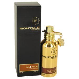 Montale Wild Aoud by Montale Eau De Parfum Spray (Unisex) 1.7 oz Women