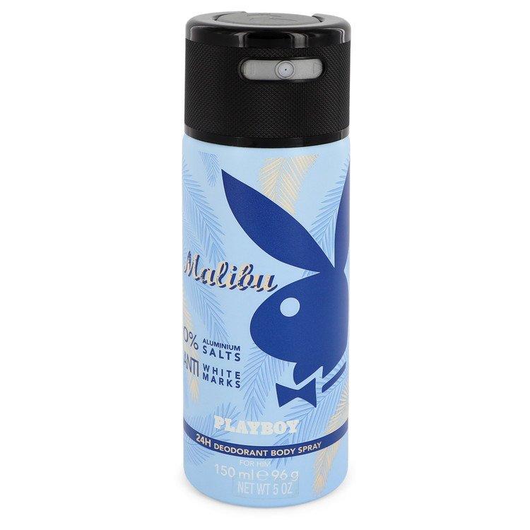 Malibu Playboy by Playboy 24H Deodorant Body Spray 5 oz Men