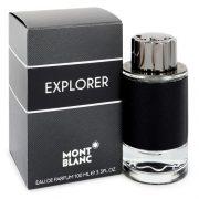 Montblanc Explorer by Mont Blanc Eau De Parfum Spray 3.4 oz Men