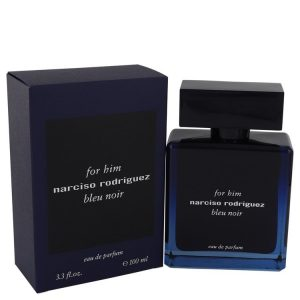 Narciso Rodriguez Bleu Noir by Narciso Rodriguez Eau De Parfum Spray 3.3 oz Men
