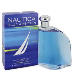 Nautica Blue Ambition by Nautica Eau De Toilette Spray 3.4 oz Men