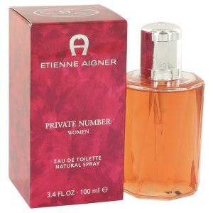 Private Number by Etienne Aigner Eau De Toilette Spray 3.4 oz Women
