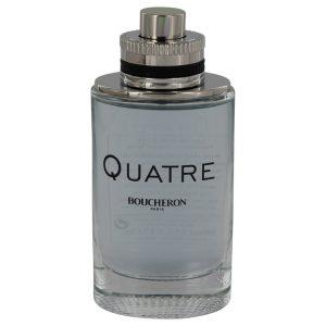 Quatre by Boucheron Eau De Toilette Spray (Tester) 3.4 oz Men