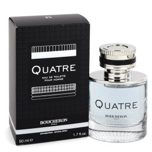 Quatre by Boucheron Eau De Toilette Spray 1.7 oz Men