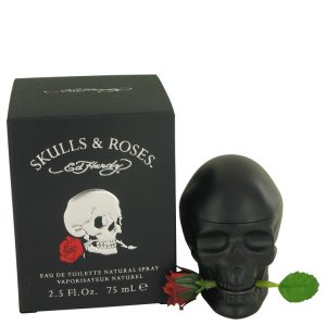 Skulls & Roses by Christian Audigier Eau De Toilette Spray 2.5 oz Men