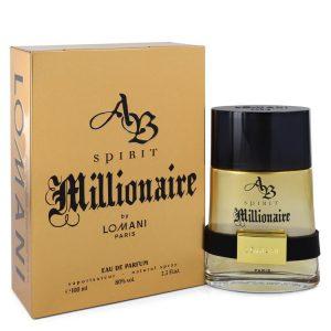 Spirit Millionaire by Lomani Eau De Parfum Spray 3.3 oz Men