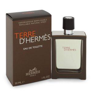 Terre D'Hermes by Hermes Eau De Toilette Spray 1 oz Men