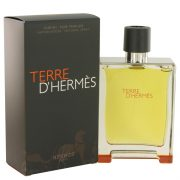 Terre D'Hermes by Hermes Pure Perfume Spray 6.7 oz Men