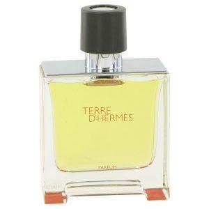 Terre D'Hermes by Hermes Pure Perfume Spray (Tester) 2.5 oz Men