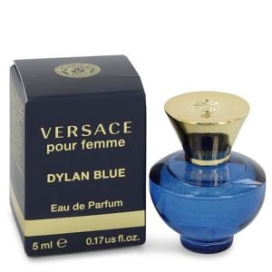 Versace Pour Femme Dylan Blue by Versace Mini EDP .17 oz Women