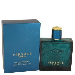 Versace Eros by Versace Deodorant Spray 3.4 oz Men