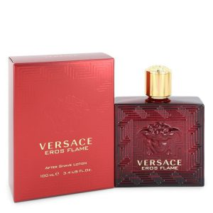 Versace Eros Flame by Versace After Shave Lotion 3.4 oz Men