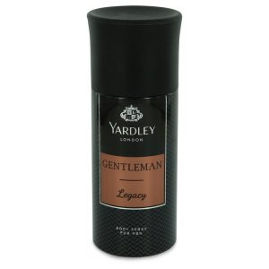 Yardley Gentleman Legacy by Yardley London Deodorant Body Spray 5 oz Men