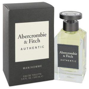 Abercrombie & Fitch Authentic by Abercrombie & Fitch Eau De Toilette Spray 3.4 oz Men