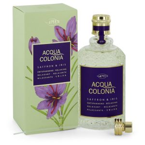 4711 Acqua Colonia Saffron & Iris by Maurer & Wirtz Eau De Cologne Spray 5.7 oz Women
