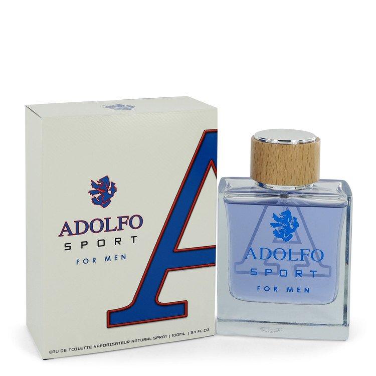 Adolfo Sport by Adolfo Eau De Toilette Spray 3.4 oz Men