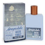 Aeropostale Her 1987 Denim by Aeropostale Eau De Toilette Spray 3.4 oz Women