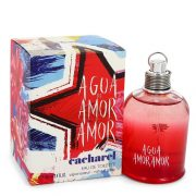 Agua De Amor Amor by Cacharel Eau De Toilette Spray 3.4 oz Women