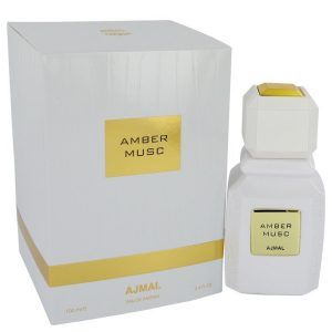 Ajmal Amber Musc by Ajmal Eau De Parfum Spray (Unisex) 3.4 oz Women
