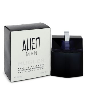 Alien Man by Thierry Mugler Eau De Toilette Refillable Spray 1.7 oz Men