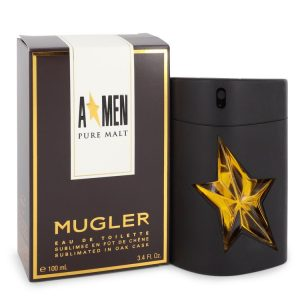 Angel Pure Malt by Thierry Mugler Eau De Toilette Spray (Limited Edition) 3.4 oz Men