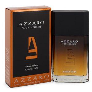 Azzaro Amber Fever by Azzaro Eau De Toilette Spray 3.4 oz Men