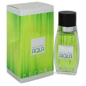 Azzaro Aqua Verde by Azzaro Eau De Toilette Spray 2.6 oz Men
