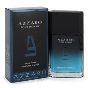 Azzaro Naughty Leather by Azzaro Eau De Toilette Spray 3.4 oz Men
