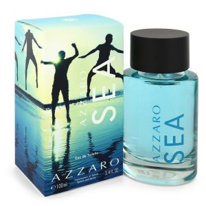 Azzaro Sea by Azzaro Eau De Toilette Spray 3.4 oz Men