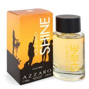 Azzaro Shine by Azzaro Eau De Toilette Spray 3.4 oz Men